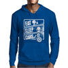 V3 Eat Sleep Cars Mens Hoodie