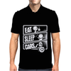 V3 Eat Sleep Cars Mens Polo