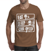 V3 Eat Sleep Code Mens T-Shirt
