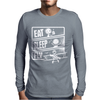 V3 Eat Sleep Fly Mens Long Sleeve T-Shirt