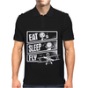 V3 Eat Sleep Fly Mens Polo