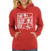 V3 Eat Sleep Fly Womens Hoodie