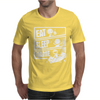 V3 Eat Sleep Game Mens T-Shirt