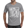 V3 Eat Sleep Hockey Mens T-Shirt