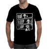 V3 Eat Sleep Larp Mens T-Shirt
