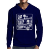 V3 Eat Sleep Mens Hoodie
