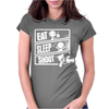 V3 Eat Sleep Shoot Womens Fitted T-Shirt