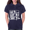 V3 Eat Sleep Shoot Womens Polo