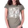 V3 Eat Sleep Snap Womens Fitted T-Shirt