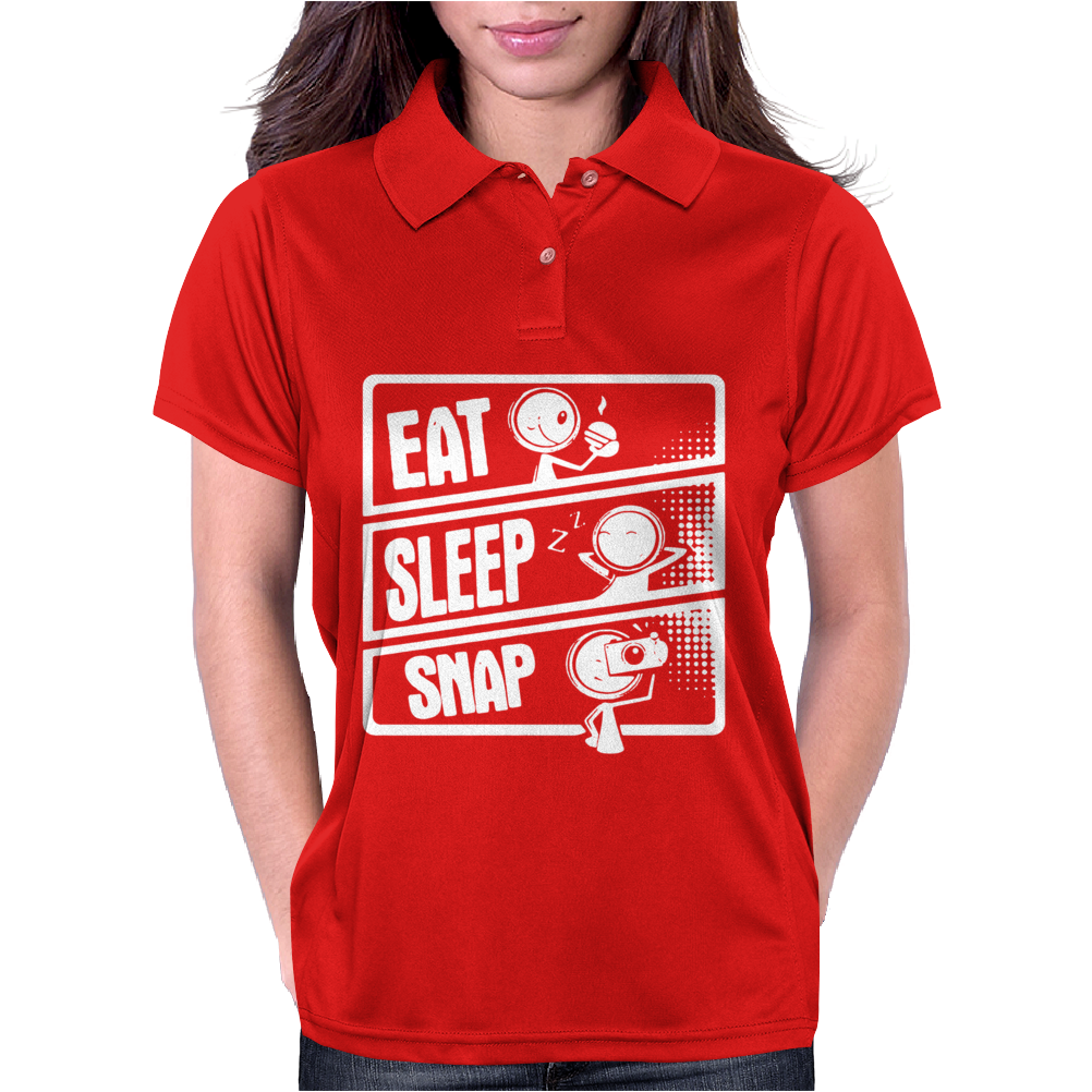 V3 Eat Sleep Snap Womens Polo