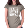 V3 Eat Sleep Swim Womens Fitted T-Shirt
