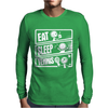 V3 Eat Sleep Tennis Mens Long Sleeve T-Shirt
