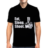 V6 Eat Sleep Shoot Mens Polo