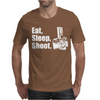 V6 Eat Sleep Shoot Mens T-Shirt