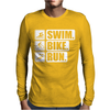 V6 Swim Bike Run Mens Long Sleeve T-Shirt