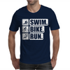 V6 Swim Bike Run Mens T-Shirt