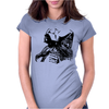 Vader and Kylo art Womens Fitted T-Shirt