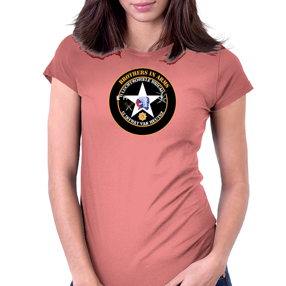 Van Heutsz Brothers in Arms Womens Fitted T-Shirt