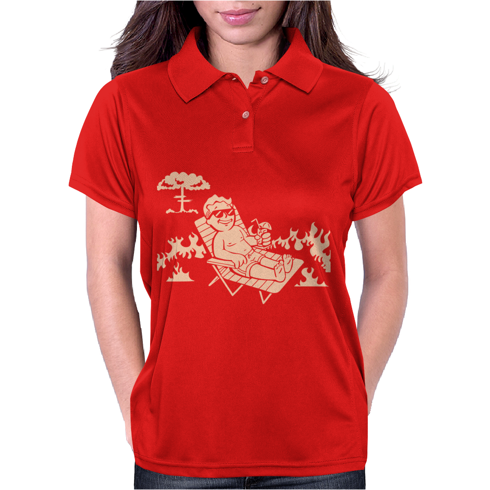 Vault Boy 2 Womens Polo