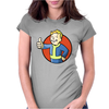 Vault Boy fallout Womens Fitted T-Shirt