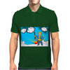 Vault Boy Mechanic Mens Polo