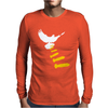 Vectorbomb Dove Bomber Mens Long Sleeve T-Shirt