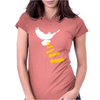 Vectorbomb Dove Bomber Womens Fitted T-Shirt