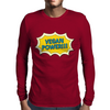 Vegan Power Mens Long Sleeve T-Shirt