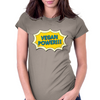 Vegan Power Womens Fitted T-Shirt