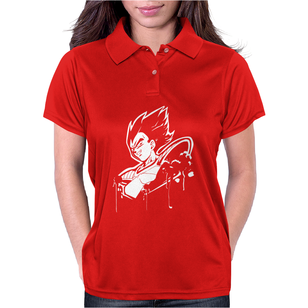 Vegeta Dragonball Z Son Goku Piccolo Womens Polo