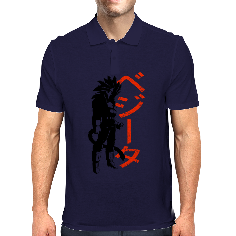 Vegeta Ssj4 Mens Polo