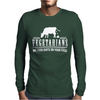 VEGETARIAN MY FOOD SHIT ON YOUR FOOD Mens Long Sleeve T-Shirt