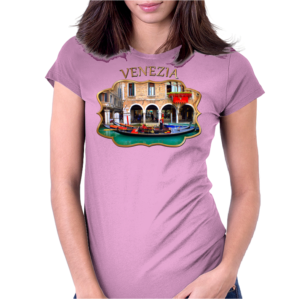 Venetian Gondolier Womens Fitted T-Shirt