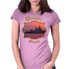 Venetian Sunset Womens Fitted T-Shirt