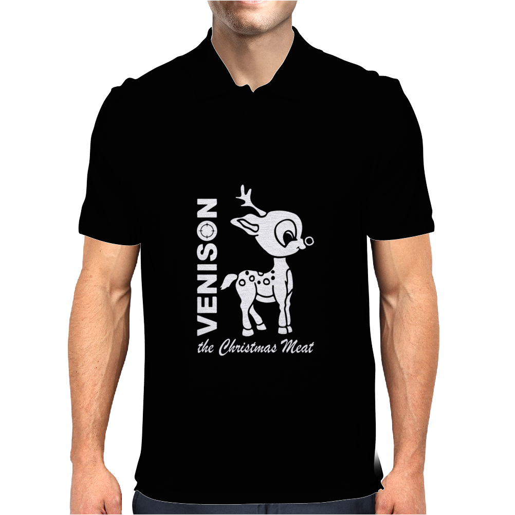 VENISON The CHRISTMAS MEAT Mens Polo