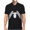 VENOM LOGO SPIDERMAN COMIC SUPERHERO COOL Mens Polo