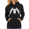 VENOM LOGO SPIDERMAN COMIC SUPERHERO COOL Womens Hoodie