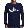 Vespa 2 Mens Long Sleeve T-Shirt