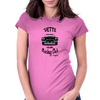 Vette Racing Club Womens Fitted T-Shirt