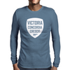 Victoria Concordia Crescit Mens Long Sleeve T-Shirt