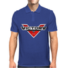 Victory Style Motorcycle Mens Polo