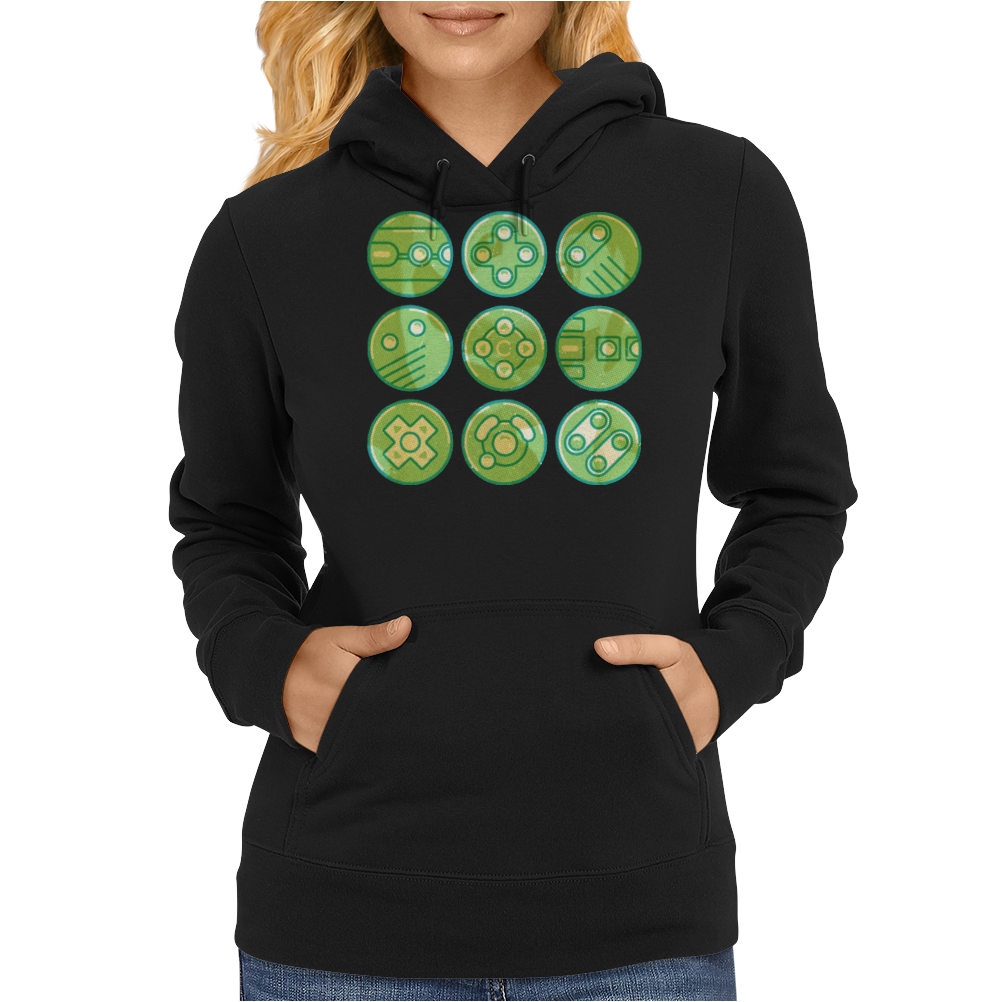 Video Game Controllers Womens Hoodie