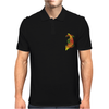 VIETNAM VETERAN ARCH LETTERING AND POW MIA IN VIETNAM RIBBON COLORS Mens Polo