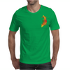 VIETNAM VETERAN ARCH LETTERING AND POW MIA IN VIETNAM RIBBON COLORS Mens T-Shirt