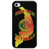 VIETNAM VETERAN ARCH LETTERING AND POW MIA IN VIETNAM RIBBON COLORS Phone Case