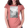 Viking village Womens Fitted T-Shirt