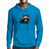 Viking with headphones Mens Hoodie