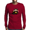 Viking with headphones Mens Long Sleeve T-Shirt