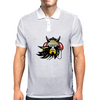 Viking with headphones Mens Polo