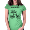 Vint Bicycle Womens Fitted T-Shirt